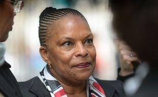 Christiane Taubira, ministre de la Justice, le 10 mai 2014 à Paris.