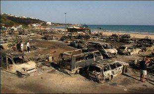 En Italie, les incendies ont provoqué de lourds dégâts, particulièrement dans le centre et le sud de la péninsule, et causé trois décès depuis le début de la semaine.