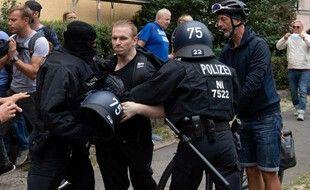La manifestation berlinoise avait lieu ce dimanche.