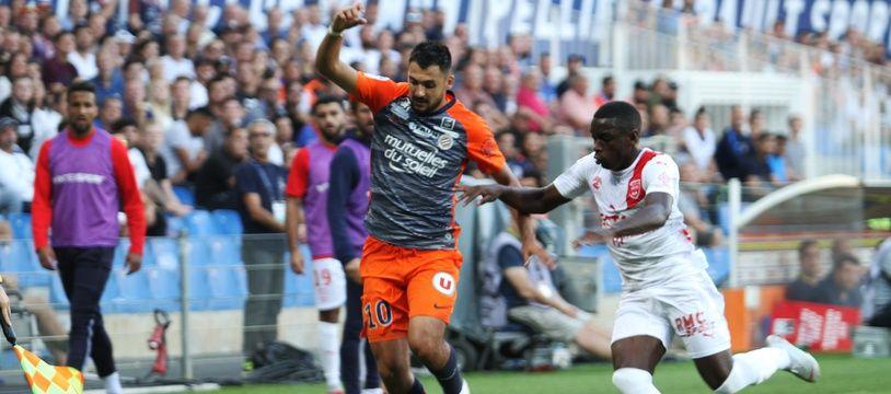 Montpellier Nîmes : Gaetan Laborde a marqué, dimanche (Archives).