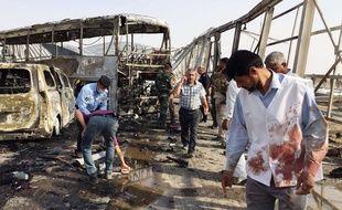 Au moins 84 personnes, parmi lesquelles des Iraniens, ont été tuées le 14 septembre 2017 dans une double attaque revendiquée par Daesh près de la ville de Nassiriya.