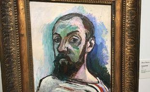 Cet autoportrait d'Henri Matisse a été réalisé en 1906