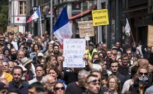 Les manifestation anti-pass sanitaire avaient rassemblées plus de 237.000 personnes partout en France samedi 7 aout 2021.
