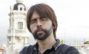 L'auteur américain Joe Hill, en octobre 2010, à Madrid, en Espagne.