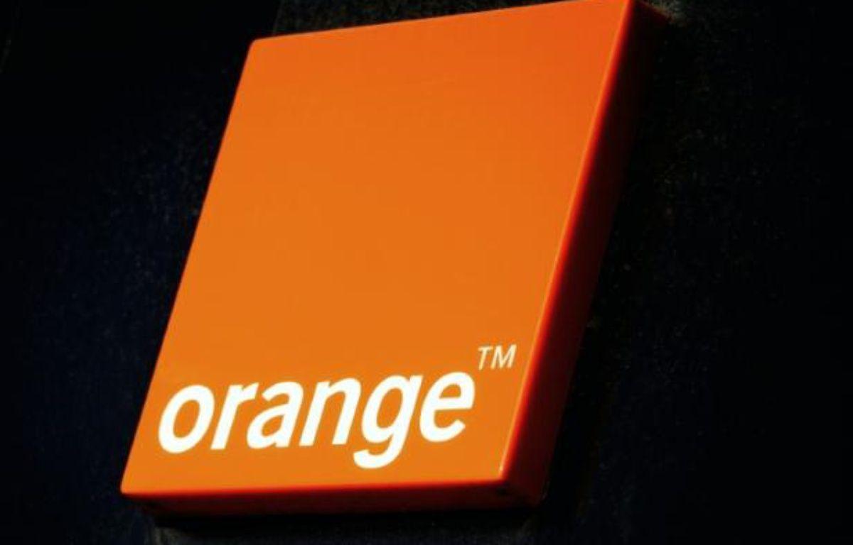 Le logo de l'opérateur Orange, le 19 décembre 2013 à Dunkerque – Philippe Huguen AFP