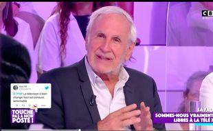 Patrice Laffont dans « Touche pas à mon poste » le 23 septembre 2020