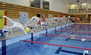 Compétition de natation naturiste