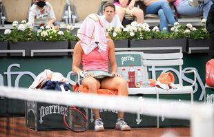 Caroline Garcia, le 2juin 2021, à Roland-Garros.