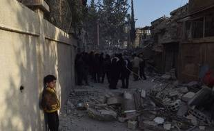 Les bombardements ont fait plus de 400 morts en quelques jours à Ghouta, en Syrie.