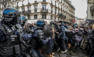 Loi « sécurité globale » : Classements sans suite ou rappels à la loi pour l'essentiel des manifestants interpellés à Paris (Illustration)