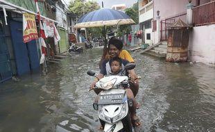 Les inondations sévissent en Indonésie
