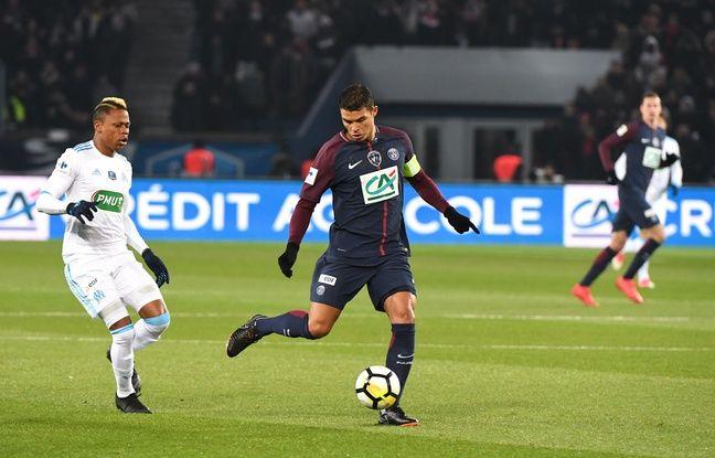 Ligue 1: Thiago Silva forfait pour l'OM, plus grand-monde à la charnière pour le PSG