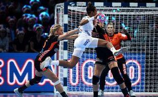 France-Pays-Bas en demi-finale de l'Euro de handball, à Paris Bercy, le 14 décembre 2018.