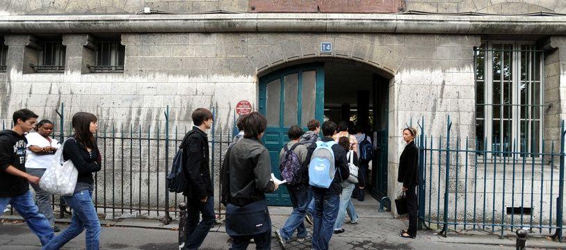 Un lycée parisien.
