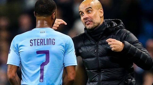 Guardiola et Sterling devraient rester à City même sans Coupe d'Europe