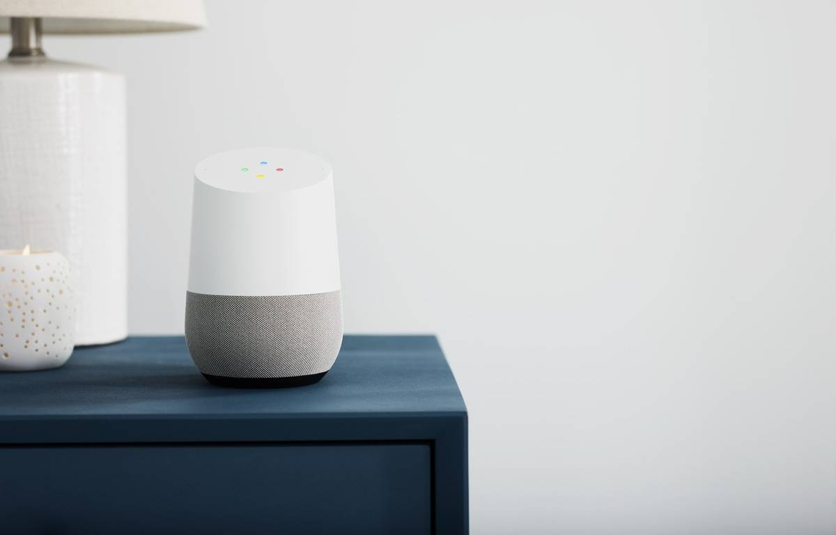 Google Home sort en France le 3 août. – GOOGLE