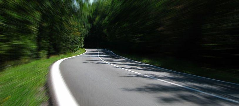 Illustration d'une route.