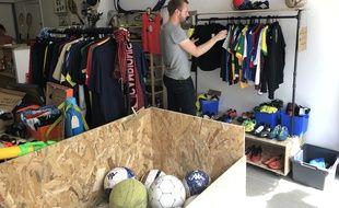 Une recyclerie du sport a ouvert quartier Doulon à Nantes
