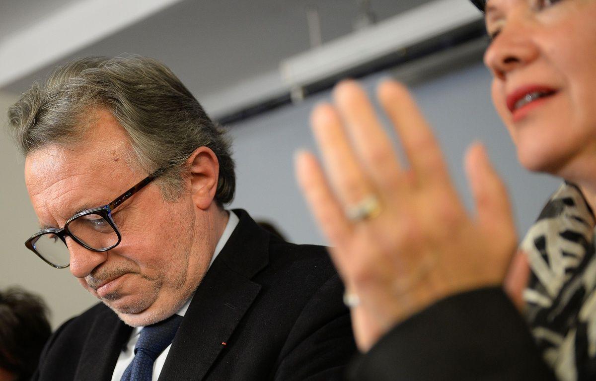Jean-Noël Guérini dimanche soir. – AFP