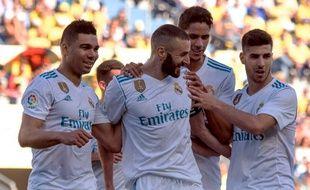 Benzema était capitaine pour la première fois de sa carrière avec le Real Madrid.