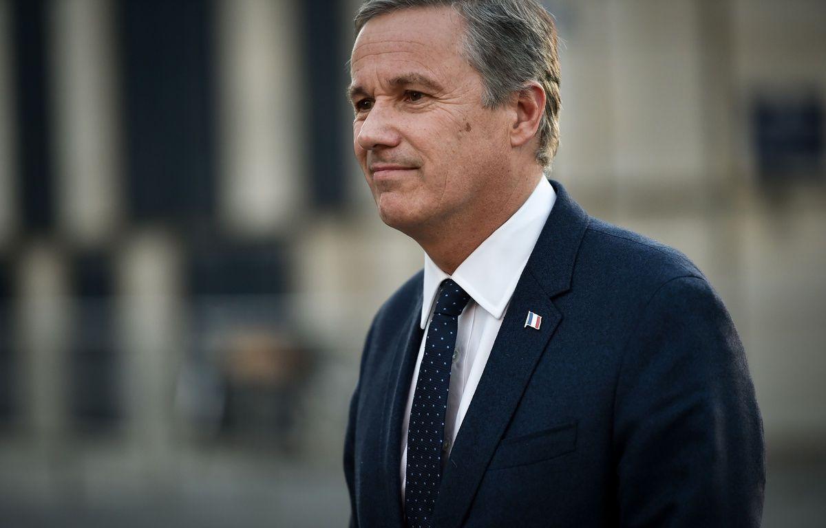 Nicolas Dupont-Aignan, candidat Debout la France à la présidentielle, le 30 novembre 2016 à Bordeaux – UGO AMEZ/SIPA
