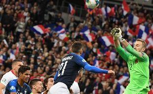 La France et la Turquie ont fait match nul 1-1 au Stade de France, le 14 octobre 2019.