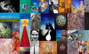 Onze artistes dévoilent leurs œuvres sur la galerie virtuelle lyonnaise Day2Day.