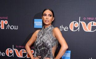 La star de télé-réalité et femme d'affaires Kim Kardashian