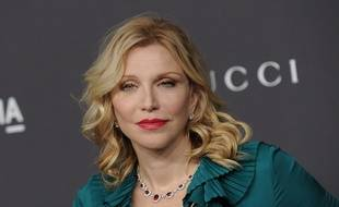La chanteuse Courtney Love