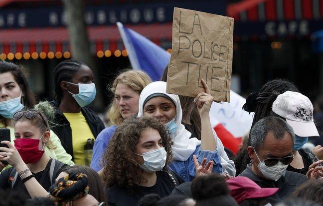 Violences policières: Vingt-et-un personnes placés en garde à vue à Paris en marge du rassemblement de samedi à Paris