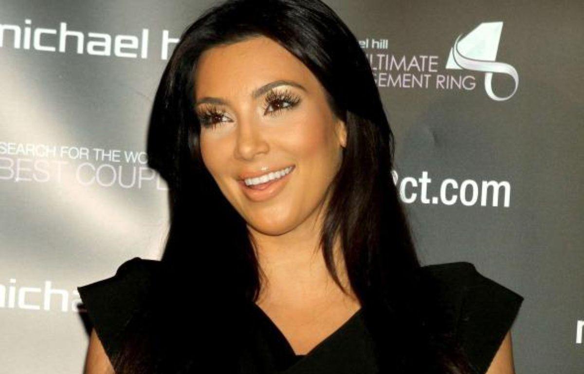 Kim Kardashian lors d'une conférence de presse à New York le 18/10/2010 – WENN / SIPA