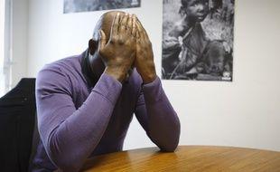Le 25 novembre 2013.Temoignage anonyme de Franck (nom d'emprunt) demandeur d'asile deboute en France, victime anonyme de tortures en Republique Democratique du Congo.