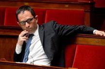 Le député socialiste Benoit Hamon à l'Assemblée nationale le 4 mai 2016