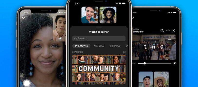 Messenger va proposer de regarder ensemble des vidéos … à distance