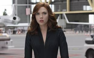 Scarlett Johansson dans «Captain America: Civil War».