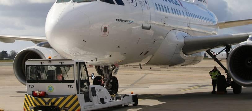 Avion de la compagnie Air France