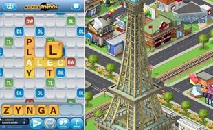 Words with Friends et CityVille, deux succès de Zynga.