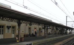 L'incident a eu lieu en gare de Vierzon.
