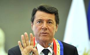 Le député-maire de Nice Christian Estrosi.