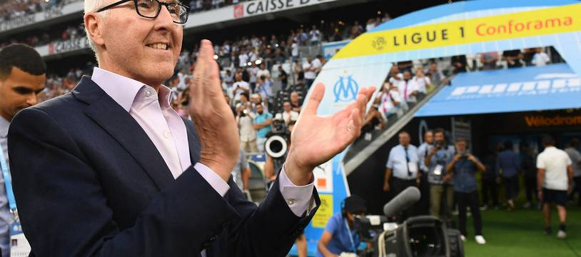 Frank McCourt, propriétaire de l'Olympique de Marseille.