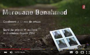L'émission de France 2  «Envoyé Spécial» a consacré un reportage aux étrangers assignés à résidence, dont Merouane Benahmed, le 5 novembre 2015.