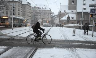 Cycliste à Strasbourg. (Archives)