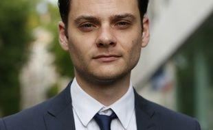 Damien Adam, député LREM de Seine-Maritime le 13 mai 2017 à Paris.