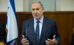 Le Premier ministre israélien Benjamin Netanyahu à Jérusalem le 6 mars 2016