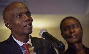 Jovenel Moïse, le candidat choisi par l'ex-chef de l'Etat Michel Martelly pour représenter son parti PHTK, a remporté l'élection présidentielle haïtienne au premier tour avec 55,67% des voix le 29 novembre 2016