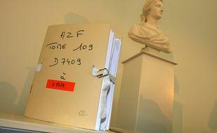 Dossier de l'instruction de la catastrophe AZF le 21 septembre 2001.