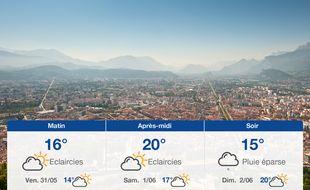 Météo Grenoble: Prévisions du jeudi 30 mai 2019