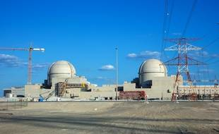 La centrale nucléaire de Barakah, près de Abu Dhabi, le 13 février 2020.