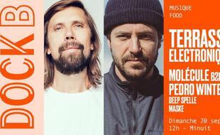 Les DJs Pedro Winter & Molecule se partagent les platines du Dock B ce dimanche