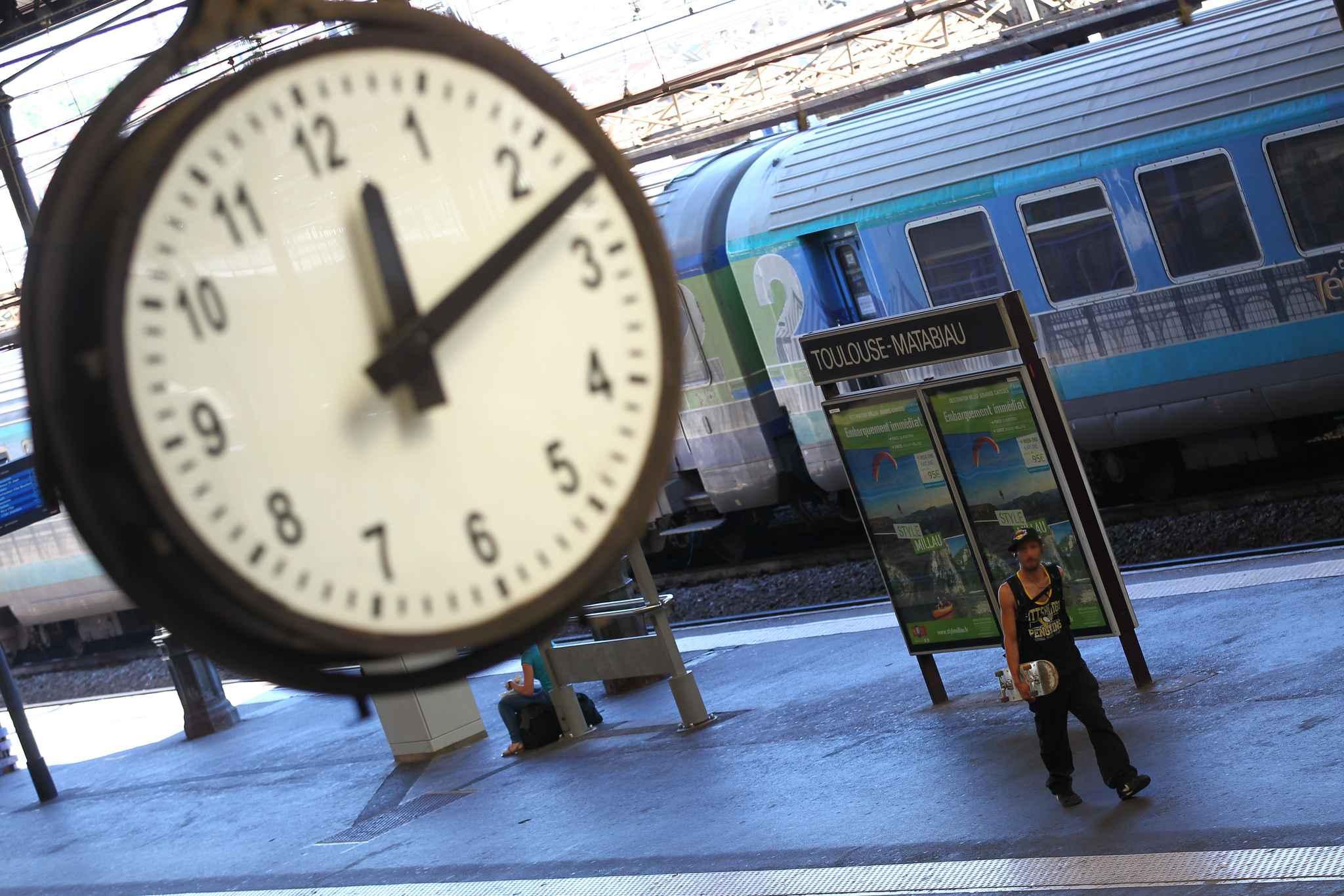Toulouse: retrouvé mort dans les wc d'un train
